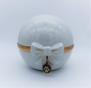 Urna cineraria animali ceramica