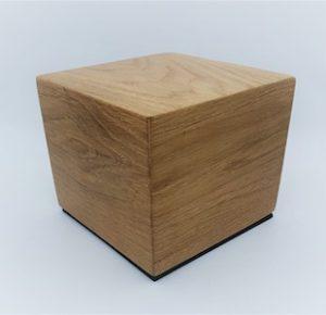 Urna cineraria animali legno